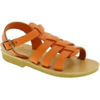 Buty Dziecko Sandały Attica Sandals PERSEPHONE CALF ORANGE Pomarańczowy