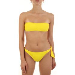 tekstylia Damskie kostium kąpielowy dwuczęściowy Joséphine Martin SARA Żółty