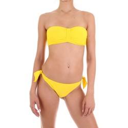 tekstylia Damskie kostium kąpielowy dwuczęściowy Joséphine Martin SYRIA Żółty