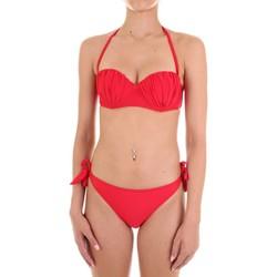 tekstylia Damskie kostium kąpielowy dwuczęściowy Joséphine Martin MARIKA Czerwony