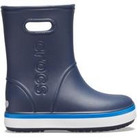 Buty Dziecko Kalosze Crocs™ Crocs™ Crocband Rain Boot Kid's Navy/Bright Cobalt