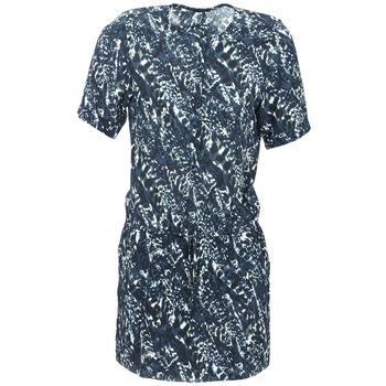 tekstylia Damskie Sukienki krótkie Ikks SABLE Niebieski