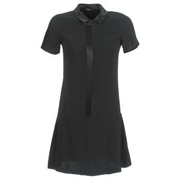 tekstylia Damskie Sukienki krótkie Ikks BIGU Czarny