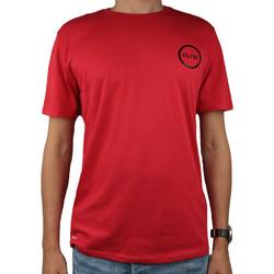 tekstylia Męskie T-shirty z krótkim rękawem Nike Dry Elite BBall Tee 902183-657 Czerwone