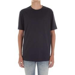 tekstylia Męskie T-shirty z krótkim rękawem Calvin Klein Jeans K10K103333 Niebieski