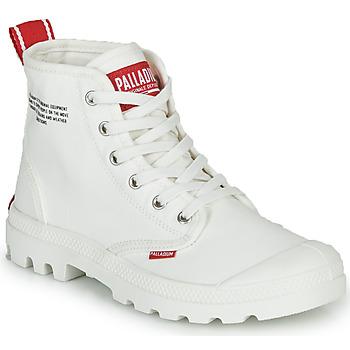 Buty Buty za kostkę Palladium PAMPA HI DU C Biały