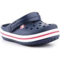 Buty Dziecko Chodaki Crocs Crocband clog 204537-485 granatowy