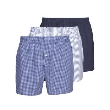 Bielizna  Męskie Bokserki Lacoste 7H3394-8X0 Biały / Niebieski