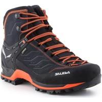 Buty Męskie Trekking Salewa Buty trekkingowe  Mtn Trainer Gtx 63458-0985 czarny, pomarańczowy