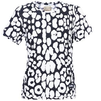 tekstylia Damskie T-shirty z krótkim rękawem Eleven Paris BIRINA Czarny