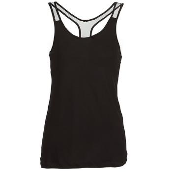 tekstylia Damskie Topy na ramiączkach / T-shirty bez rękawów Religion DELICATE Czarny