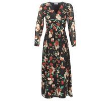 tekstylia Damskie Sukienki długie Betty London NOISETTE Czarny / Wielokolorowy