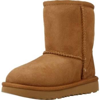 Buty Dziewczynka Śniegowce UGG CLASSIC II Brązowy