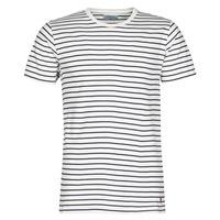 tekstylia Męskie T-shirty z krótkim rękawem Yurban KINO Marine / Biały