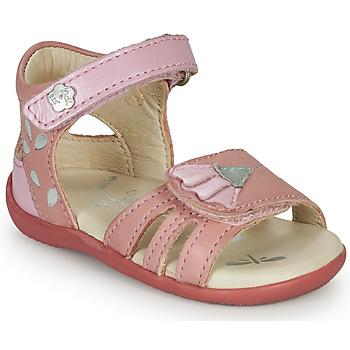 Buty Dziewczynka Sandały Kickers BICHETTA Różowy