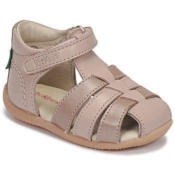 Buty Dziewczynka Sandały Kickers BIGFLO-2 Różowy / Metal