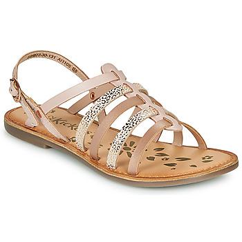 Buty Dziewczynka Sandały Kickers DIXON Różowy