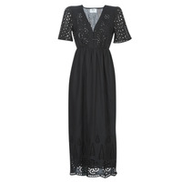 tekstylia Damskie Sukienki długie Betty London MARTI Czarny
