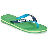 Buty Japonki Havaianas BRASIL MIX Zielony / Niebieski