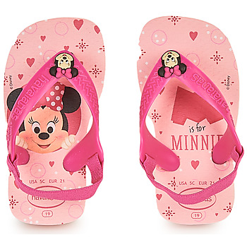 Buty Dziewczynka Japonki Havaianas BABY DISNEY CLASSICS II Różowy
