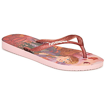 Buty Dziewczynka Japonki Havaianas KIDS SLIM FROZEN Różowy