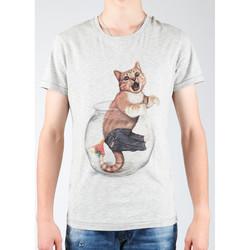 tekstylia Męskie T-shirty i Koszulki polo Wrangler T-shirt  Light Grey Mel W7940IS03 szary