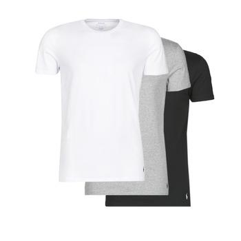 tekstylia Męskie T-shirty z krótkim rękawem Polo Ralph Lauren WHITE/BLACK/ANDOVER HTHR pack de