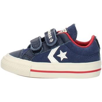 Buty Chłopiec Trampki niskie Converse 762767C Niebieski