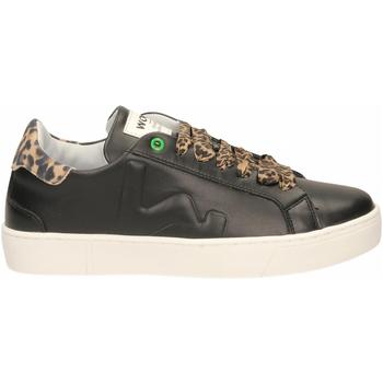Buty Damskie Trampki niskie Womsh SNIK black-leopard
