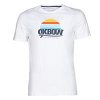 tekstylia Męskie T-shirty z krótkim rękawem Oxbow M1TEKSO Biały