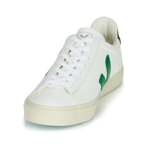 CAMPO  Veja  trampki niskie    biały / zielony / czarny