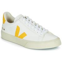 Buty Trampki niskie Veja CAMPO Biały / Żółty