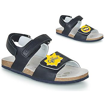 Buty Chłopiec Sandały Chicco HAZEL Niebieski / Żółty