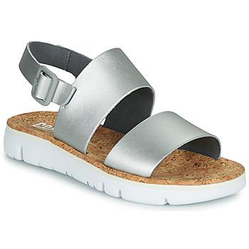 Buty Damskie Sandały Camper Oruga Sandal Argenté