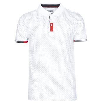 tekstylia Męskie Koszulki polo z krótkim rękawem Casual Attitude NELLY Biały