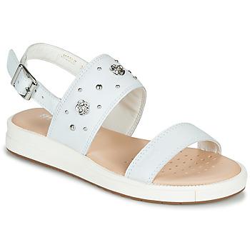 Buty Dziewczynka Sandały Geox J SANDAL REBECCA GIR Biały