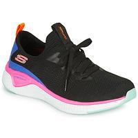 Buty Damskie Fitness / Training Skechers SOLAR FUSE Czarny / Różowy / Niebieski