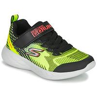 Buty Chłopiec Multisport Skechers GO RUN 600 BAXTUX Czarny / Żółty