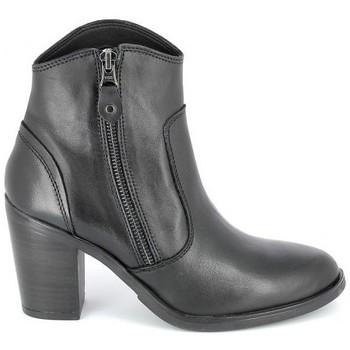 Buty Damskie Botki Porronet Boots Acap Noir Czarny