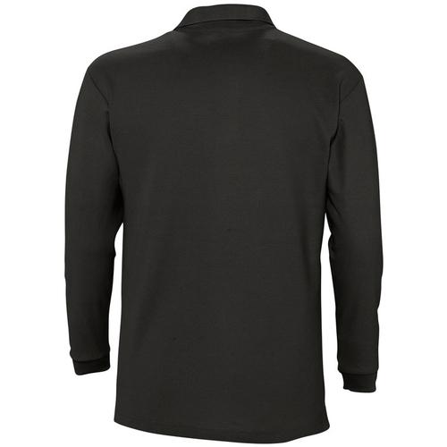 Sols Winter 2 Casual Men Negro - Bezpłatna Dostawa- Tekstylia Koszulki Polo Z Długim Rękawem Meskie 13223 Najniższa Cena