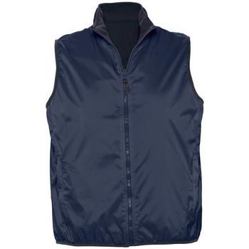 tekstylia Swetry rozpinane / Kardigany Sols WINNER UNISEX REVERSIBLE Azul