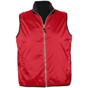 tekstylia Swetry rozpinane / Kardigany Sols WINNER UNISEX REVERSIBLE Rojo