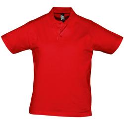 tekstylia Męskie Koszulki polo z krótkim rękawem Sols PRESCOTT CASUAL DAY Rojo