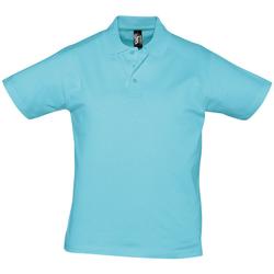 tekstylia Męskie Koszulki polo z krótkim rękawem Sols PRESCOTT CASUAL DAY Azul