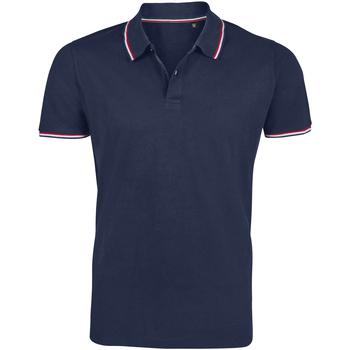 tekstylia Męskie Koszulki polo z krótkim rękawem Sols PRESTIGE MODERN MEN Azul