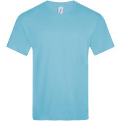 tekstylia Męskie T-shirty z krótkim rękawem Sols VICTORY COLORS Azul