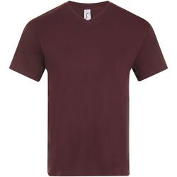 tekstylia Męskie T-shirty z krótkim rękawem Sols VICTORY COLORS Violeta