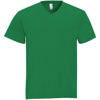 tekstylia Męskie T-shirty z krótkim rękawem Sols VICTORY COLORS Verde