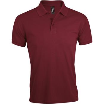 tekstylia Męskie Koszulki polo z krótkim rękawem Sols PRIME ELEGANT MEN Violeta