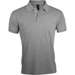 tekstylia Męskie Koszulki polo z krótkim rękawem Sols PRIME ELEGANT MEN Gris
